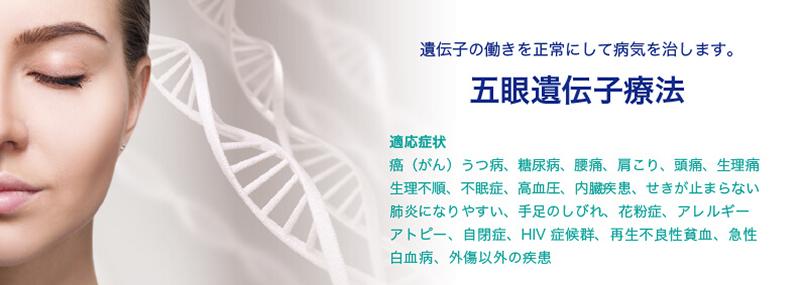 五眼遺伝子療法